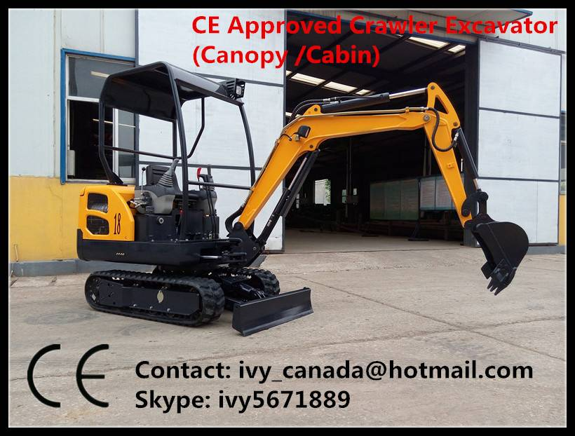 Mini Crawler Excavator Laidong KM385B Cheap Price