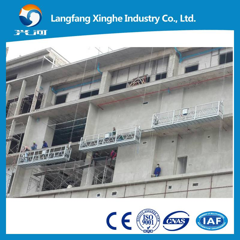 zlp800 xinghe electric winch gondola , suspended scaffolding , hoist suspended platform
