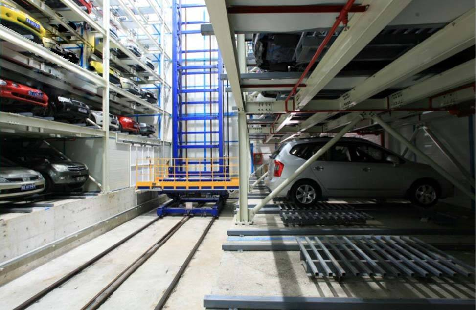 Automatic Car Parking System-Traveling Stack Parking System