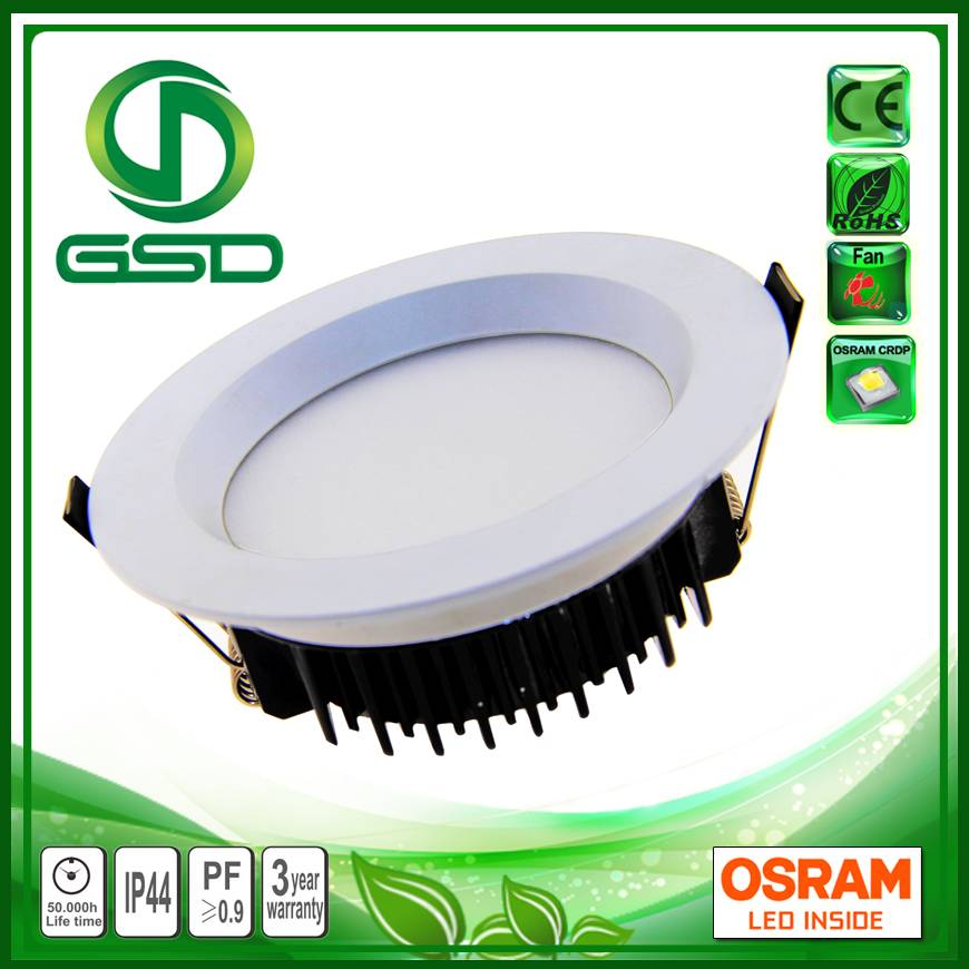 Energy saving led downlight with 120mm cutting size