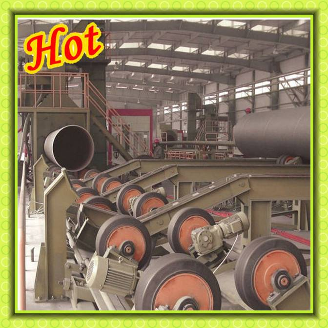 Metal Parts Roller Conveyor Automatic Blasting Machine