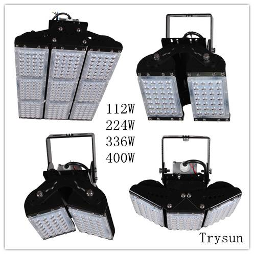 High Power Flood Lighting 112W 224W 336W 400W Outdoor Highbay Light Industrial Waterproof