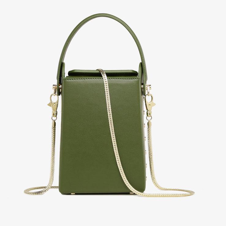 Square Box bags Mobile Phone Pouch Crossbody Purse Small Shoulder Bag handbag