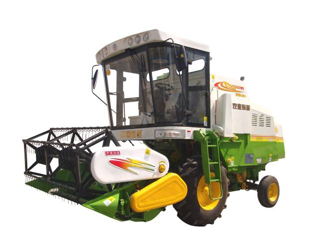 Large Wheat /Rice Combine Harvester