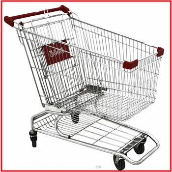 240L used supermarket American style shopping cart