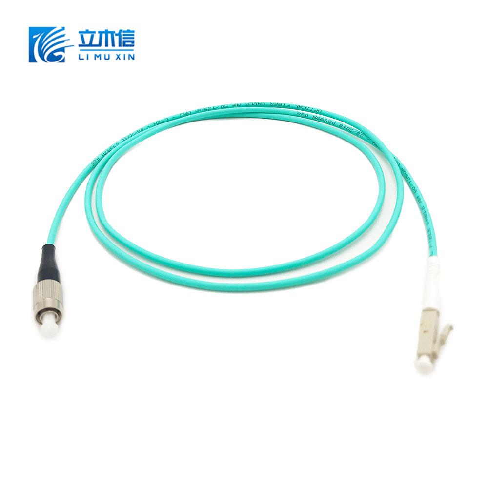 Fiber Optic Patch Cable Single mode fiber optic cable jumper LC-FC APC/UPC Customized
