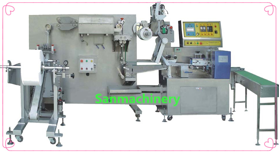 Flat Wet Tissue Making Machine(1Sheet/Bag)