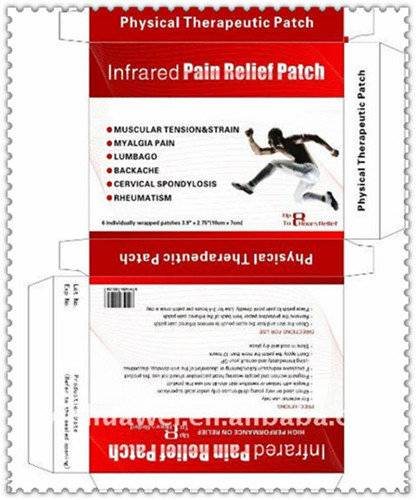 Far Infrared Pain Relief Warmer Patch