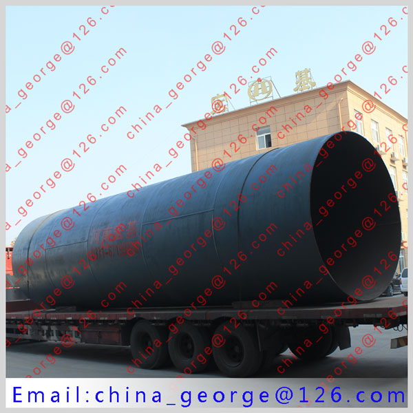 Large capacity hot sale slag rotary kiln sold to Astana