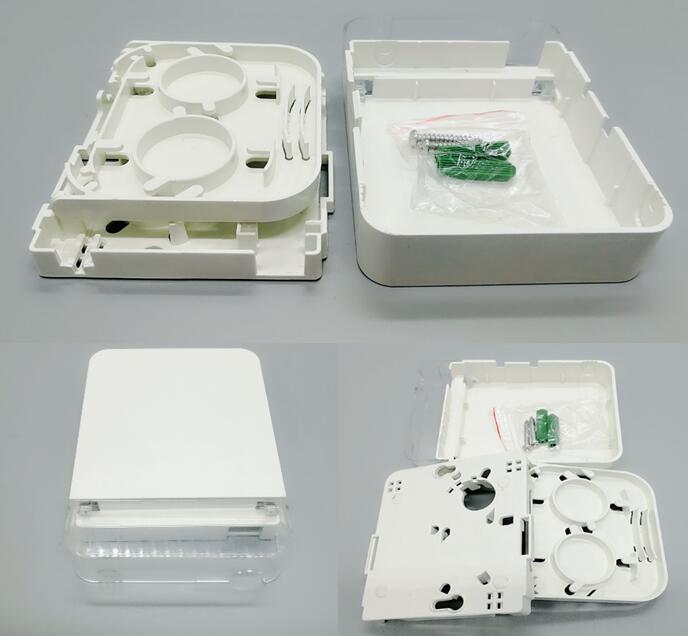 4 port sc ftth boxsc fiber patch panel ftth wall mount termination box