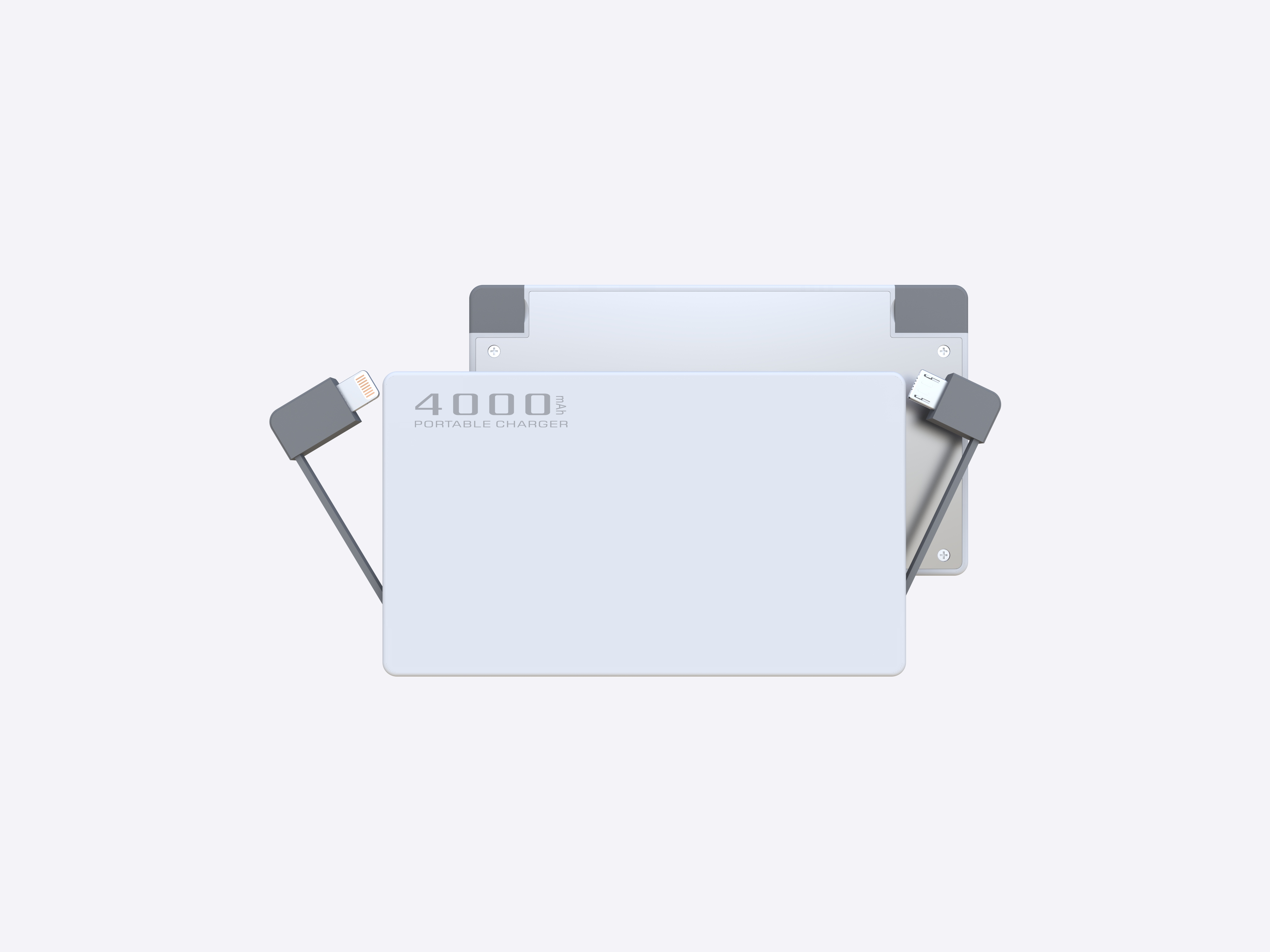 hot 2016 rechargeable power bank portable source 4000mah slim mobile power bank charger credit card