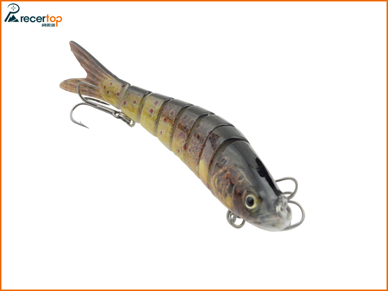 8 Section trout Fishing lures for sinking