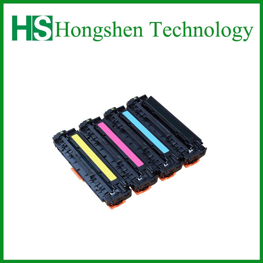 Wholesales Compatible Color Toner Cartridge for HP 305A-B/C/M/Y