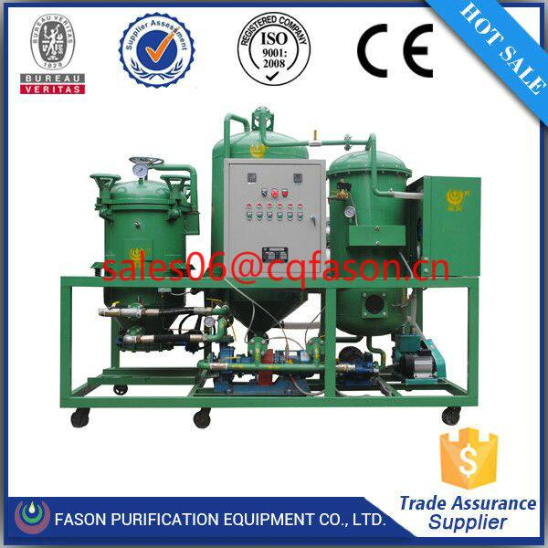 Used Lubricant Oil Purify Machine Lubrication Hydraulic Oil Purifier