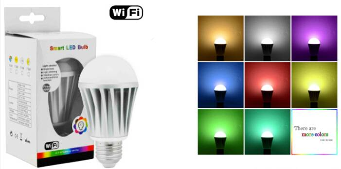 RGBW wif bulbs with Energy star