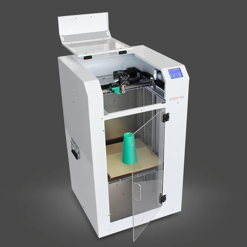 MINGDA Glitar 6S , 3d Printer Used for Model Making , Ceramic 3d printer machine In Digital