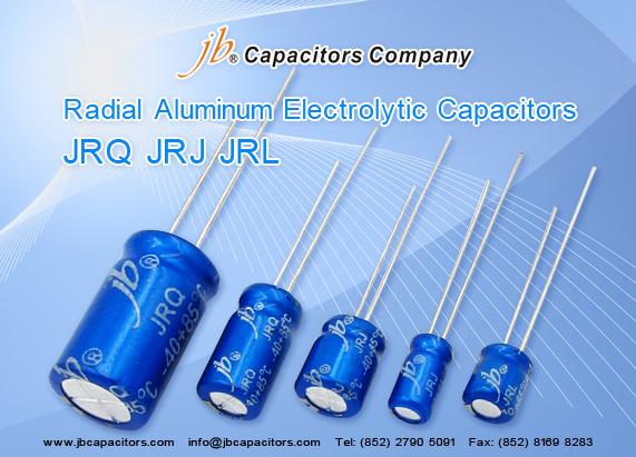 JRQ - 1000H at 105°C, Bi-Polarized Radial Aluminum Electrolytic Capacitor