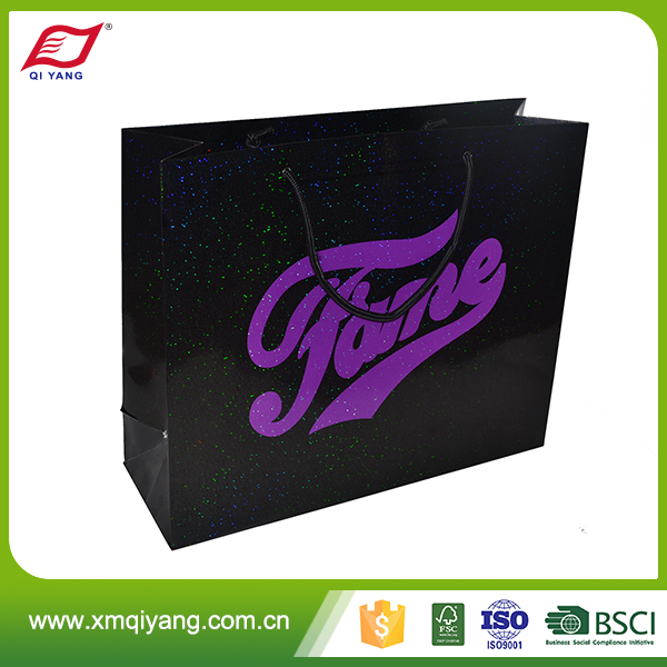 Wholesale high quality custom cheap square bottom paper bag