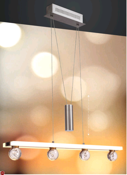 4.2W LED DIMMABLE ROLL SHAPE PENDANT LIGHT- P60586A