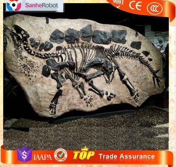 Jurassicpark life-size Artificial Natural Ornament skeleton model Replica Dinosaur Fossils