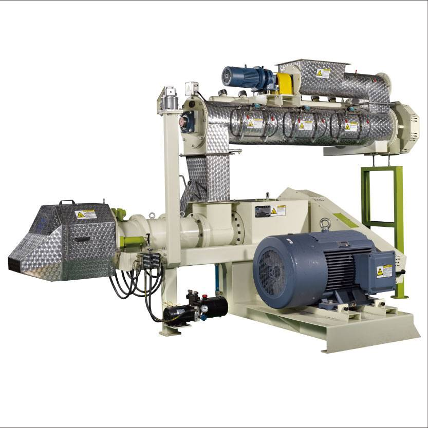 High-efficiency new type fish feed extruder machine