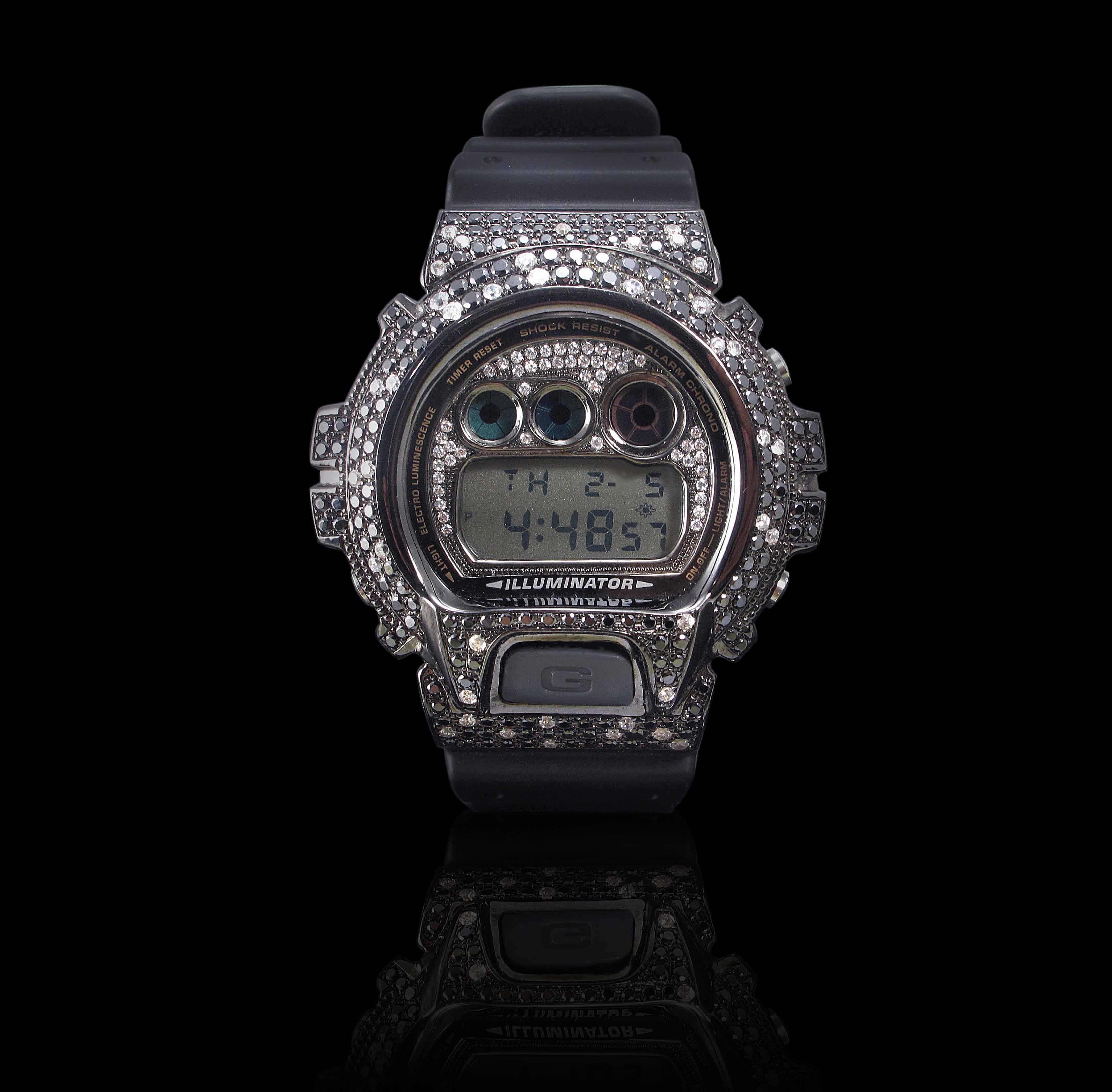 Silver 925 DW6900 Watch Case