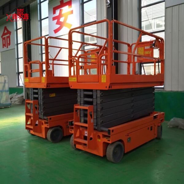 China Hydraulic movable electric genie scissor lifts for sale