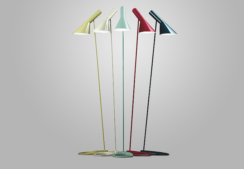 Modern Design AJ Floor Lightings Metal Stand Jacobson Floor Lamps for Living Room/Bedroom