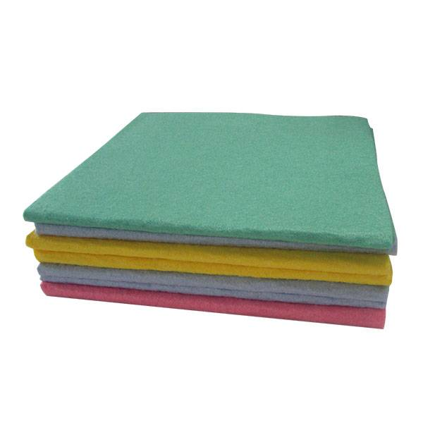 germany nonwoven cleaning cloth(NEEDLE PUNCHED
