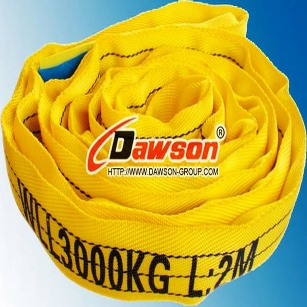 100% Polyester 3 Ton Round Sling