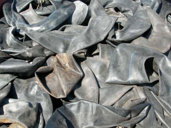Used Butyl Inner Tube