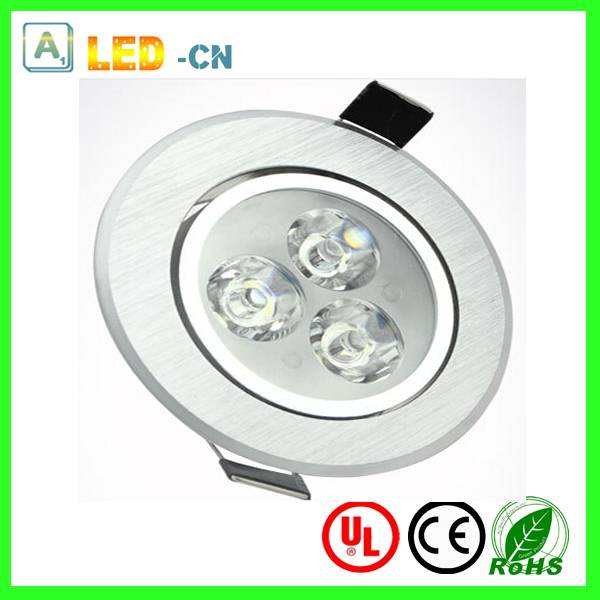 CRI>80 3w led ceiling light