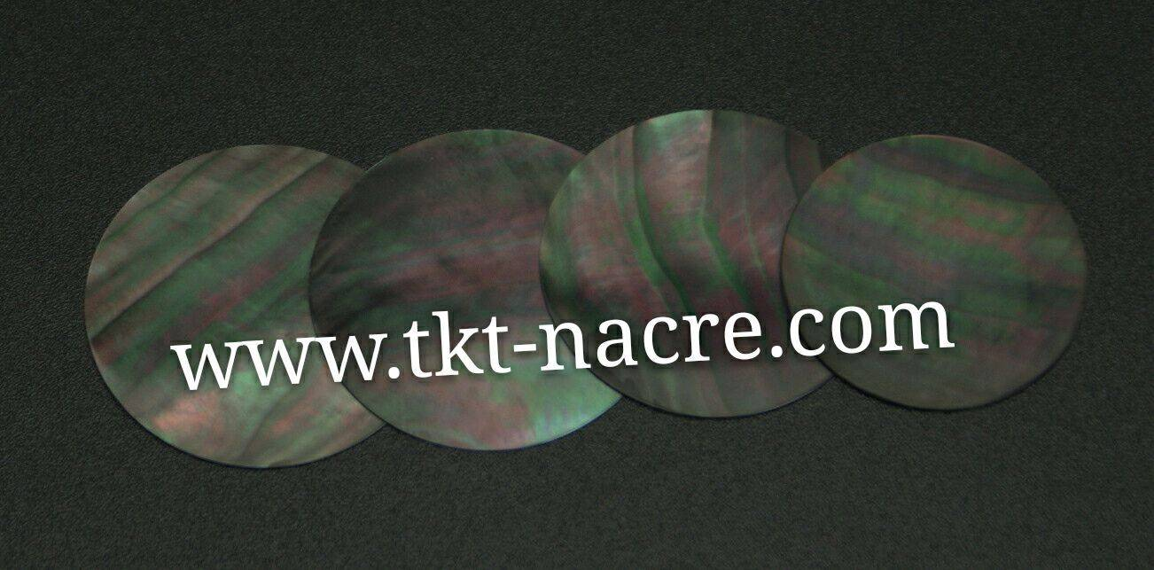 Tahiti Black Mother of Pearl Dial Blanks For Watch Dials And Nacre Cadrans
