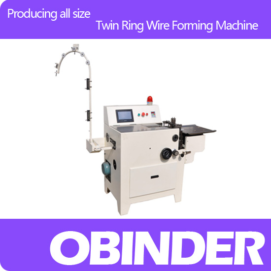 Obinder Automatic twin ring wire forming machine OBFJ600