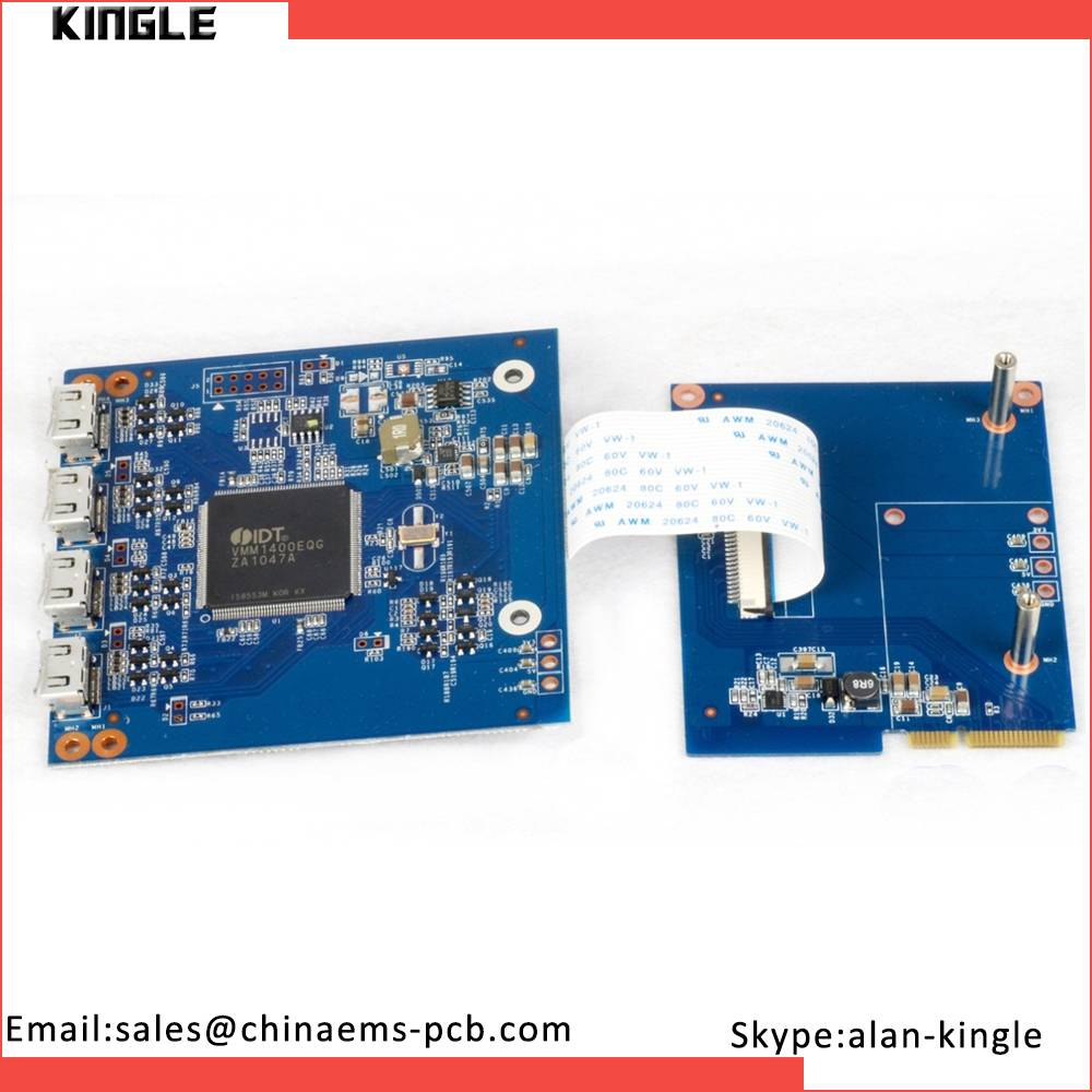 Fr4 material color tv pcb board