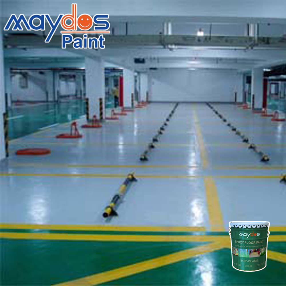Epoxy floor resin for warehouse/factory/car parking
