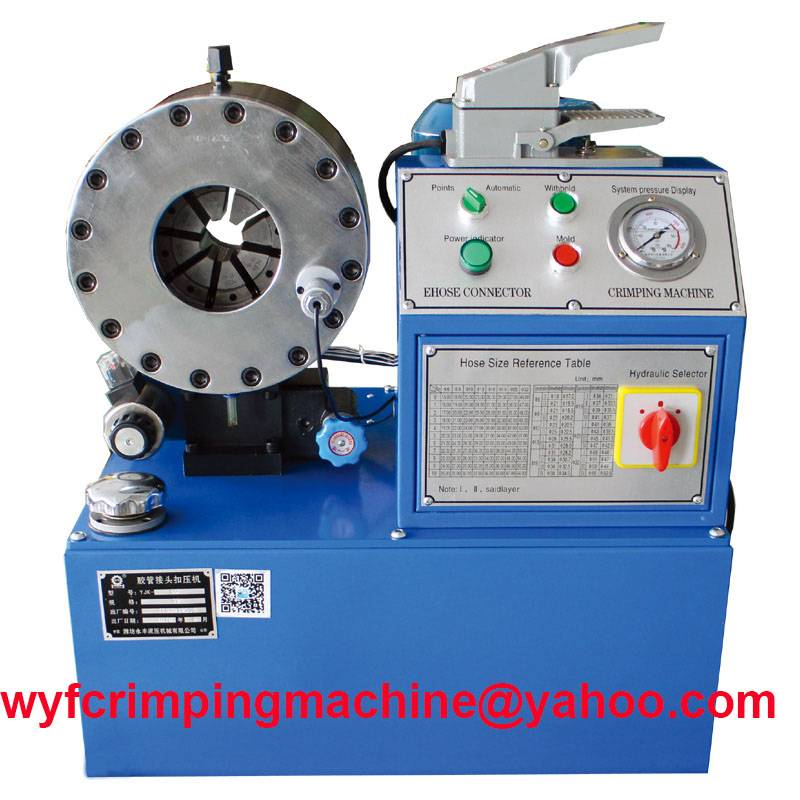YJK-80 Hydraulic Hose Swaging Machine