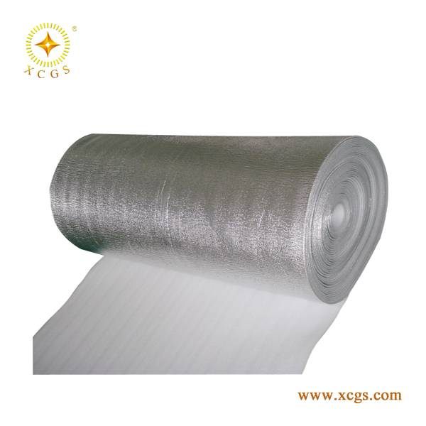 EPE/XPE Sliver Foil Building Heat Insulation Wrap