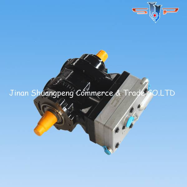 Howo parts double cylinder air compressor