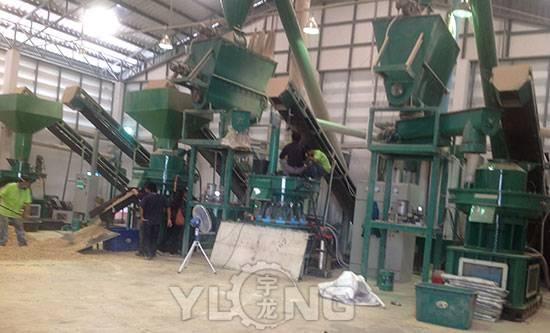 wood pellet machine wood pellet production line