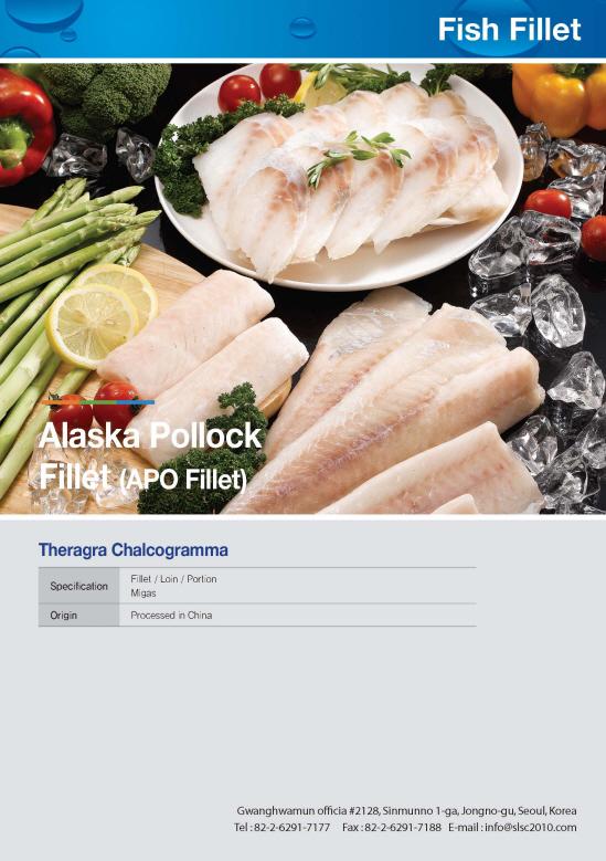 ALASKA POLLOCK FILLET (APO FILLET)