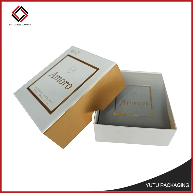 New hard paper packing cardboard gift box with lid