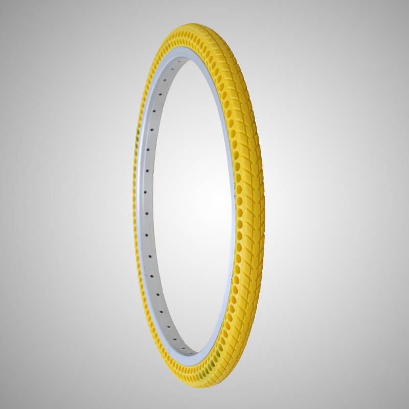 261.5 inch solid air free bicycle tire