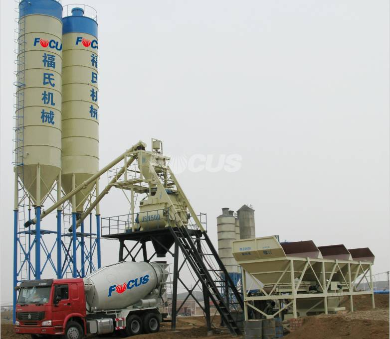 HZS75 Concrete Batching Plant Manufacturer, Concrete Batching Plant Price