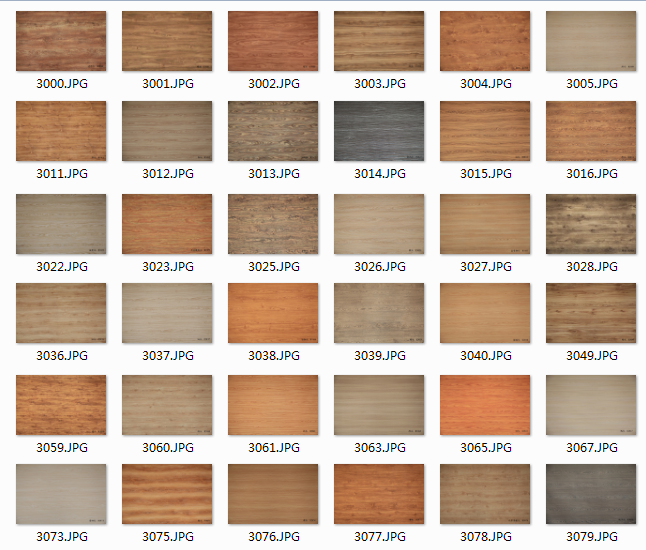 wood grain melamine decorative paper