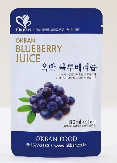 OKBAN Blueberry juice