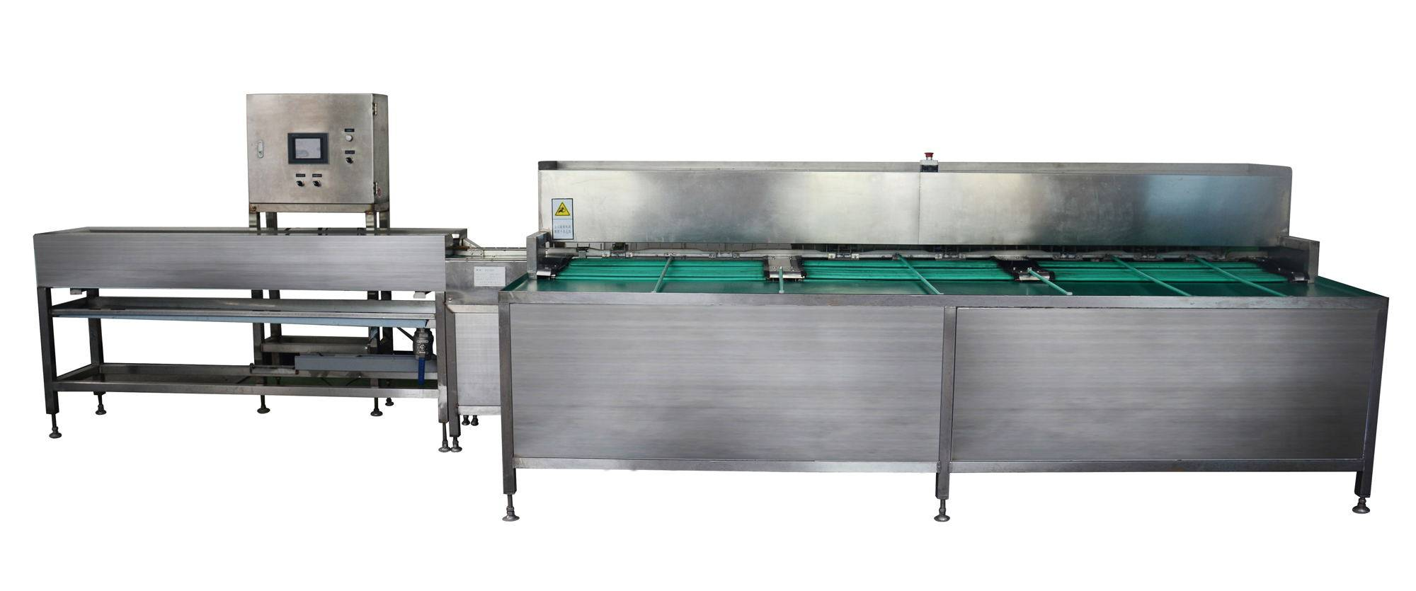 MT-100-1DX full automatic cleaning and grading machine for egg products
