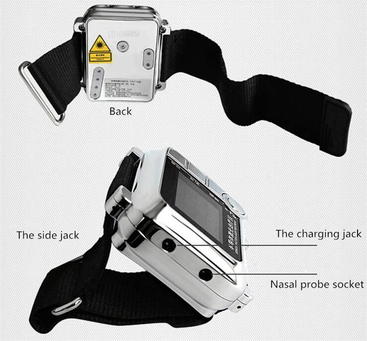 blood circulation improvement infrared laser acupoint treatment instrument