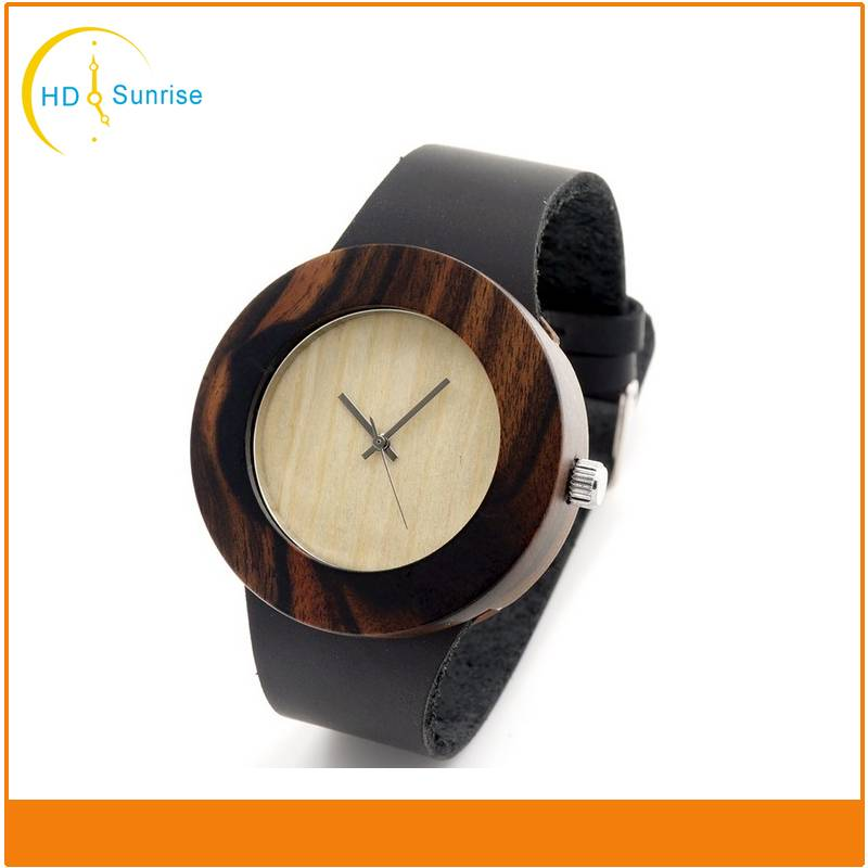 Charming Vogue Wrist Wood Watch for Men and Women with Customized Logo