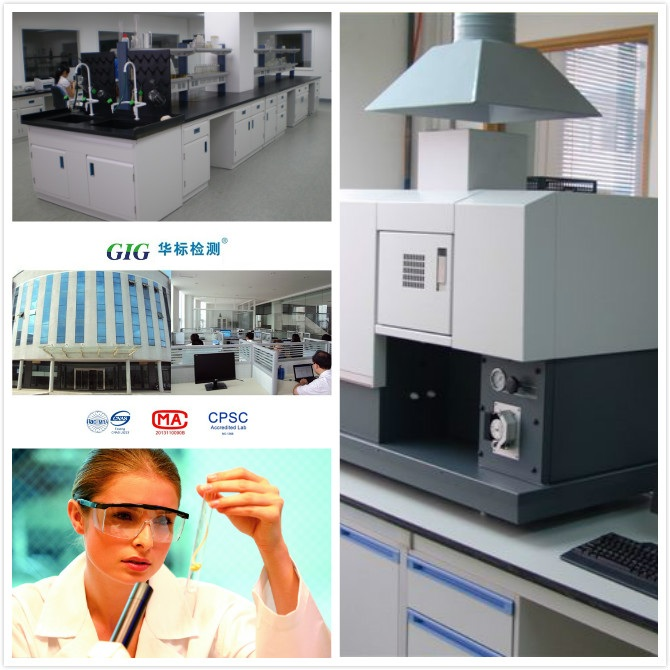 GIG Ningbo laboratory For Rousseau sanitary ware REACH Test